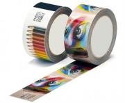 Ruban adhésif personnalisable - Impression sur tout support : PVC, acrylique, solvant