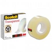 Ruban adhésif transparent 19mm x 3 en sachet individuel 550 - Scotch