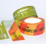 Ruban de balisage personnalisé - Matériau : polypro - 6 couleurs d'impression