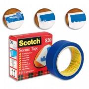 Ruban de sécurité™ 3,5mmx3 bleu - Scotch