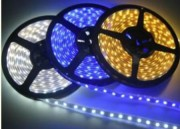 Ruban lumineux auto-adhésif - Indice de protection : IP65   -  Tension : 12/24V