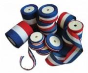 Rubans tricolores pour inauguration - Longueur de 10m