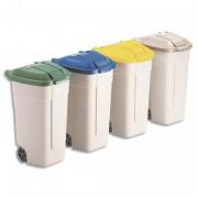 RUBBERMAID Couvercle vert pour conteneur à roues 100L - RUBBERMAID