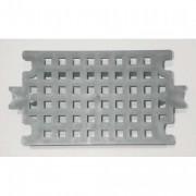RUBBERMAID Poubelle collecteur en métal 5,6L bac plastique avec couvercle dims inox (hxø) 29 x 20cm - RUBBERMAID