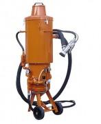 Sableuse 24 L sans dispersion de poussière - Système de récupération de l'abrasif par pompe à vide