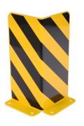 Sabot de protection en L - Hauteur (mm) : 400 / Conformes aux directives BGR 234 et certifié TÜV