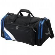 Sac a main de sport - En Polyester 600D - Poids : 816 gr - Couleur : Noir / bleu