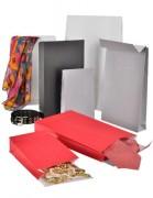 Sac cadeau en papier - Disponible en 3 dimensions standard   -  4 teintes unies
