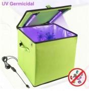 Boîte de désinfection a tube lumineux UV - Tuez 99,9% des moisissures, bactéries, germes et virus