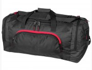 Sac de sport personnalisable multipoches - Matière : 100 % polyester - Multipoches