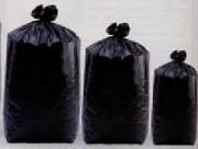 Sac plastique transparents 110L - PEHD noir
