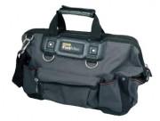 Sac porte-outils - Dimensions (LxHxP) cm : 46 x 25 x 9  -  49 x 26 x 10