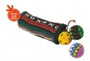 Sac pour balles de jonglerie - Contenance : 3 balles