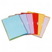 Sachet de 10 pochettes-coin Fard'liss bleu en PVC 18/100e - Elba