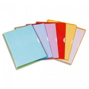 Sachet de 10 pochettes-coin Fard'liss rouge en PVC 18/100e - Elba