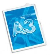 Sachet de 10 pochettes-coin format A3 en PVC 13,5/100e - Elba