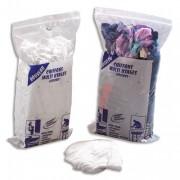 Sachet de 1kg de chiffons textile blanc - Delaisy Kargo