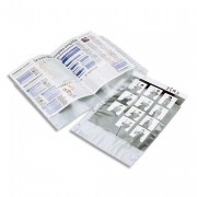 Sachet de 50 pochettes perforées PP 6/100e A4 - Elba