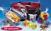 Sachet plastique - Dimensions (cm) : de 5 x 8 à 50 x 80