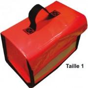 Sacoche porte outils pour agent de piste - 3 Tailles à 1, 2 ou 4 Compartiments