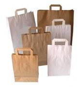 Sacs papier personnalisés - Dimensions (H x L) cm : de 29 x 20 à 45 x 49