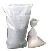 Sacs polypropylène tissés - DImensions (cm) : de 25 x 35 à 70 x 140