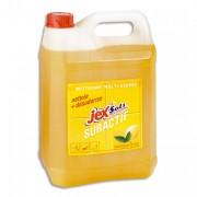 SAINT MARC Bidon de 5 litres nettoyant suractif JEX parfum citron - Jex