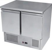 Saladette en inox à 2 portes - Température : De + 2 / + 8 °C - Capacité (L) : 300