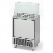 Saladette pour fast-food - Fabrication espagnole - Certifiée ISO 9001 et 14001 - Modèle : 1 à 5 portes