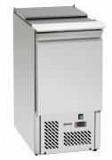 Saladette réfrigérée en acier inoxydable - Contenance : 140 litres