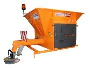 Saleuse hydraulique portée - Capacité (L) : 400 - 1000
