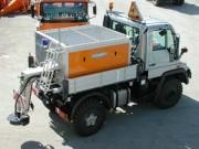 Saleuses portées arrière srs - Capacité : 350L - 400L - 450L - 550L