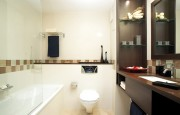 Salle de bains préfabriquée pour hôtel