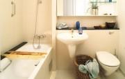 Salle de bains préfabriquée résidentielle