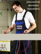 Salopette de travail multifonction - 65% polyester, 35% coton, 300 g/m²