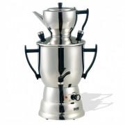 Samovar en acier inoxydable 3 L - Réservoir d'eau 3 litres