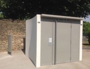 Sanitaire public personnalisé - Cabine PMR à usage pour tous