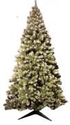 Sapin de Noël pré-éclairé 240 cm - Hauteur : 1,5m à 2,4m - Usage intérieur