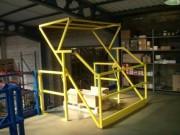 Sas à palettes de sécurité - Pour plateforme de stockage et mezzanine