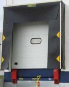 Sas d'étanchéité à cadre suspendu - Largeur x Hauteur (mm) : 3400 x 3500