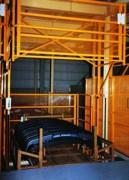 Sas de sécurité pour plate-forme - Manutention verticale des charges