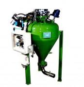 Sas de transfert pneumatique pour industrie fine - Déchargement rotatif 360°