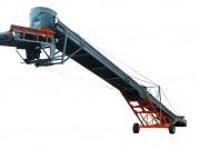 Sauterelle produit vrac - Convoyeur inclinable et mobile pour le transport de charges isolées