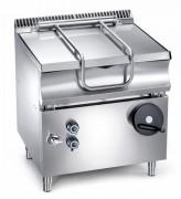 Sauteuse basculante gaz - Capacité utile : 653 x 433 x 198 (143 mm hauteur utile)