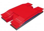 Sautoir perche semi modulaire double entrée - Matière : Mousse croisillonnée
