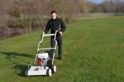 Scarificateur pelouse à couteaux - Largeur de travail : 45 cm - Moteur Honda 4 kW