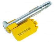 Scellé à clou métallique pour container - Socle : ABS et polystyrène - Clou : métal