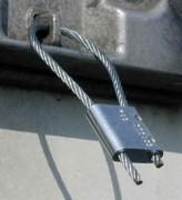 Scellé câble à fermeture automatique - Scellé Alumaloc