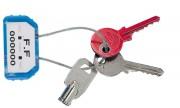 Scellé câble porte clefs - Dimension câble (mm) : 1.5 x 100
