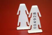 Scellé clavette en plastique - Dimensions (H x l) : 36 x 17 mm